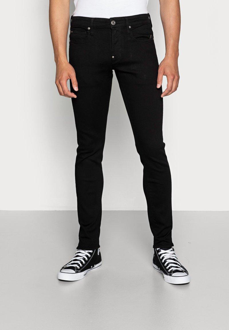 G-Star - REVEND SKINNY FIT - Jeans Skinny Fit - nero black