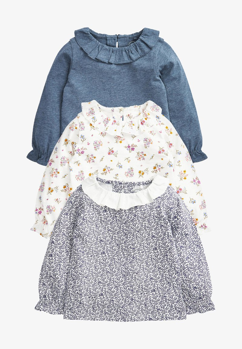 Next - 3 PACK - Long sleeved top - blue