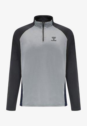 Sweatshirt - marine/asphalt