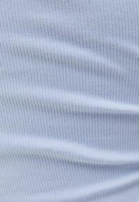 Bershka - T-shirt basique - light blue - 5