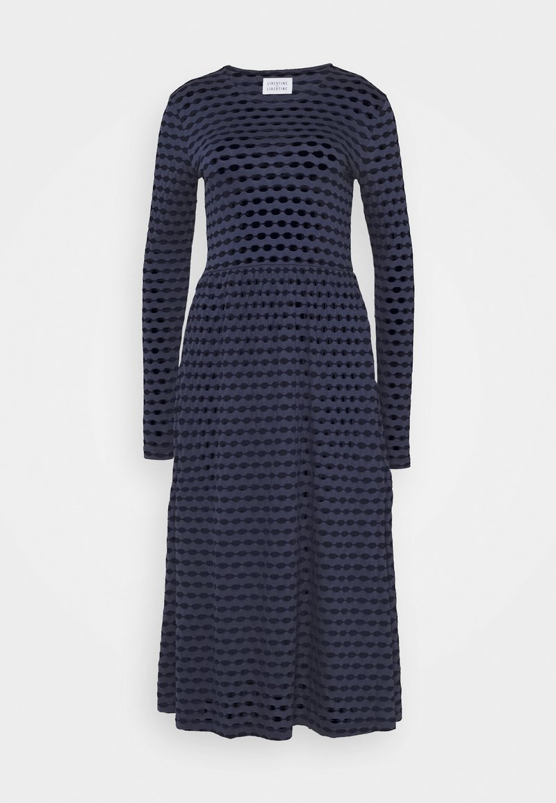 Libertine-Libertine - TEAM JUMPER DRESS - Day dress - blue