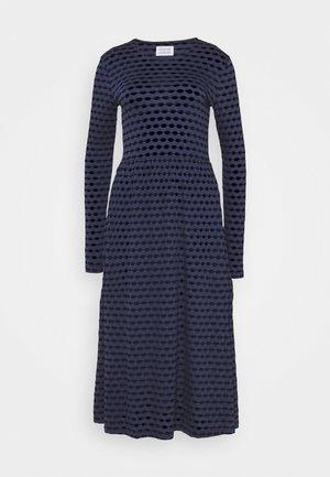 TEAM JUMPER DRESS - Denní šaty - blue