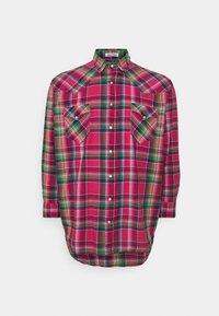 Polo Ralph Lauren Big & Tall - LONG SLEEVE SPORT SHIRT - Shirt - pink/blue - 0