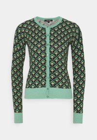 King Louie - CARDI ROUNDNECK EMPEROR - Kardigan - island green - 4