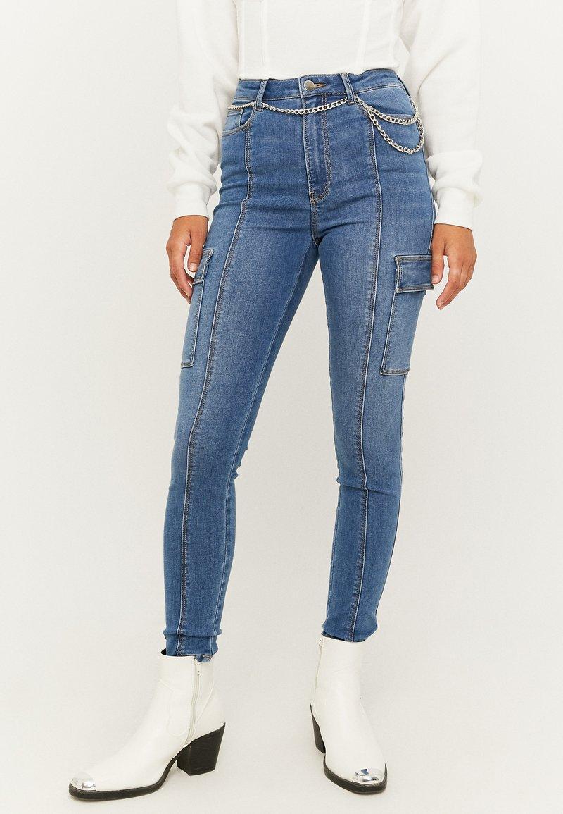 TALLY WEiJL - Jeans Skinny Fit - blu