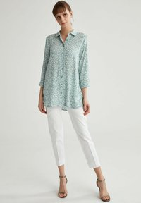DeFacto - Button-down blouse - turquoise - 1