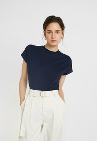 KIOMI - Basic T-shirt - sky captain/dark blue - 0