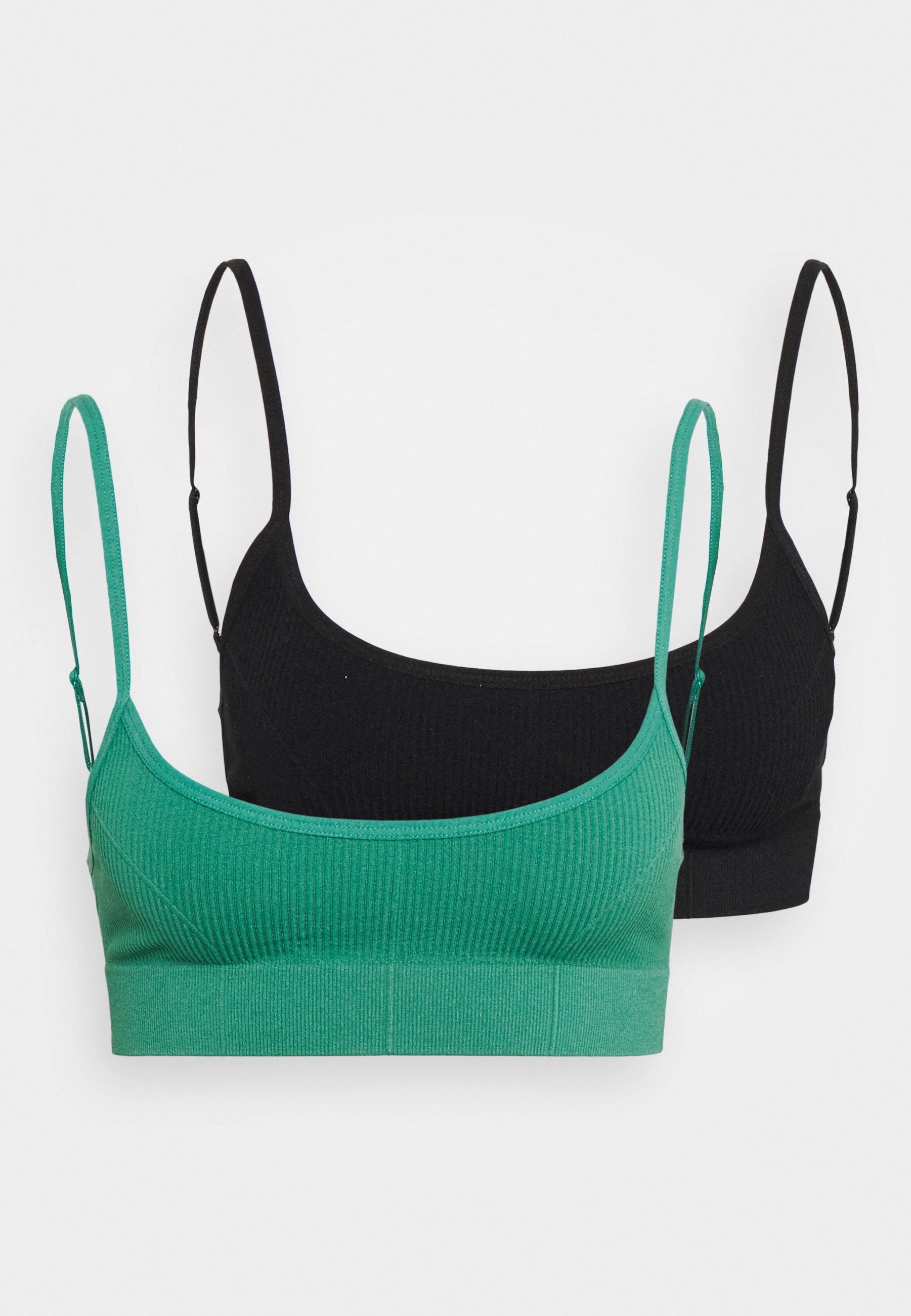 Donna SEAMFREE LOW BACK BRALETTE 2 PACK - Bustino