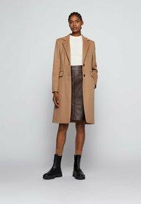 BOSS - CURIA - Classic coat - light brown - 1