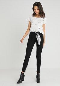 Scotch & Soda - HAUT - Slim fit jeans - stay black - 1