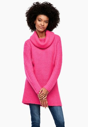 LANGARM - Jumper - neon pink
