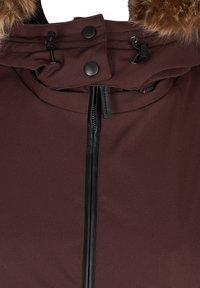 Zizzi - Down coat - dark bordeaux - 7