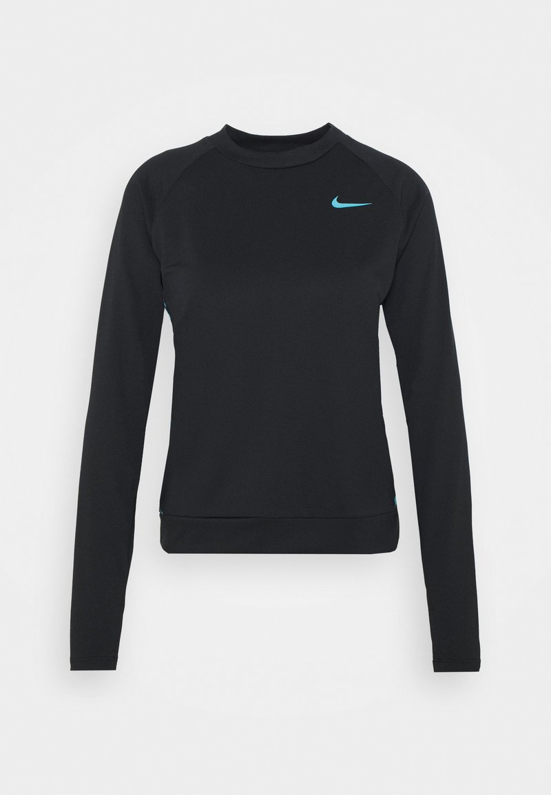 Nike Performance - CLSH  - Sports shirt - black/chlorine blue