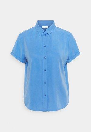 Button-down blouse - intense blue