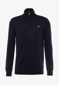 Lyle & Scott - GOLF QUARTER ZIP - Strickpullover - navy - 3