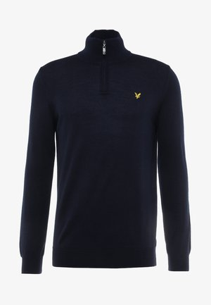 GOLF QUARTER ZIP - Pullover - navy