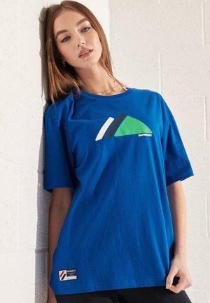 T-Shirt print - royal