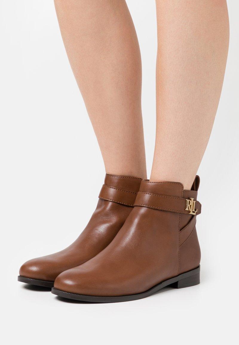 Lauren Ralph Lauren - BONNE - Botki - deep saddle tan