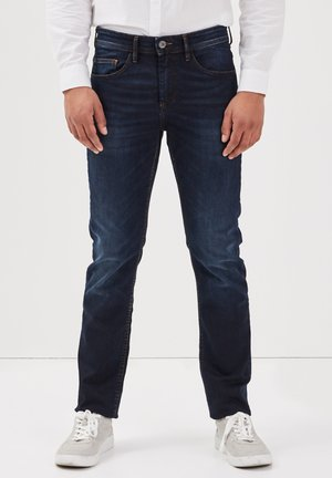 Straight leg jeans - denim brut