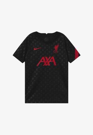 FC LIVERPOOL DRY - Klubové oblečení - black/gym red