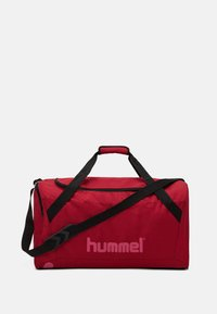 Hummel - CORE SPORTS BAG - Urheilukassi - biking red/raspberry sorbet - 1