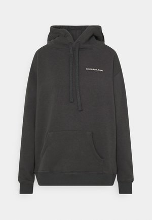 PARADISE SNAKE OVERSIZED HOODIE - Sweater - anthracite