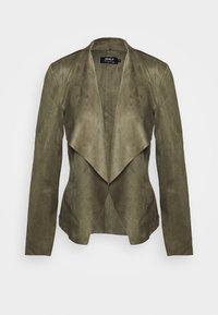 ONLY - ONLFLEUR JACKET - Faux leather jacket - kalamata - 4