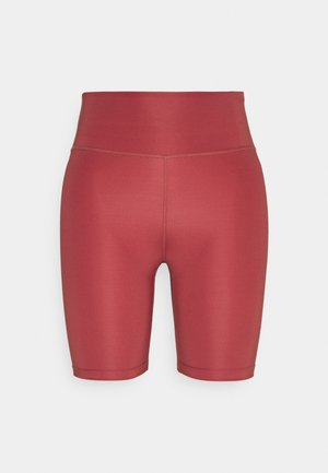 RUN SHORT - Tights - canyon rust/silver