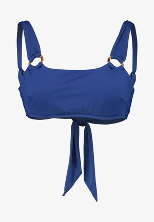 ACTIVE CUP TANK - Bikini top - blue opal
