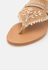 Alberta Ferretti - Sandály s odděleným palcem - brown - 6