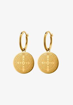 CREOLE ARCHIVUS POLIERT - Earrings - goldfarben