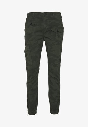 CAMO - Cargo trousers - olive