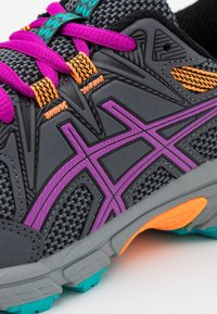 ASICS - GEL-VENTURE 8 UNISEX - Trail running shoes - carrier grey/orchid - 5