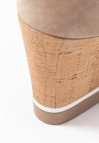 Felmini - MARY - High heeled sandals - taupe - 2