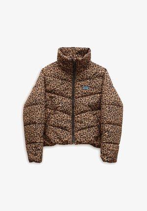 WM FOUNDRY V PRINTED PUFFER MTE - Winter jacket - leopard spot