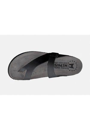 ZEHENTRENNER NIELS - T-bar sandals - black