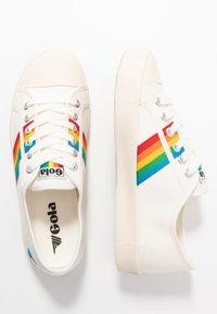 Gola - COASTER RAINBOW - Sneakersy niskie - offwhite - 3