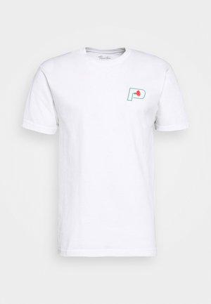 PARADE TEE - T-shirt med print - white