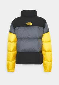 The North Face - STEEP TECH JACKET UNISEX - Piumino - vanadis grey/ black/lightning yellow - 1