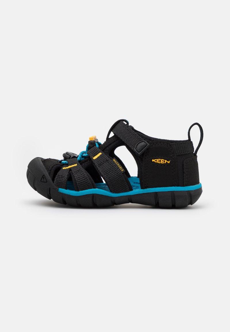 Keen - SEACAMP II CNX UNISEX - Vandringssandaler - black/yellow