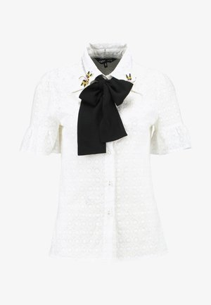 PASSION POLLEN BELL SLEEVE - Button-down blouse - ivory