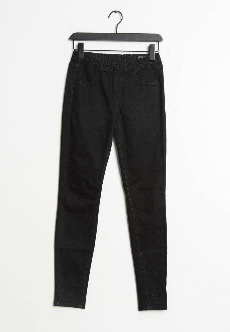 Mango - Slim fit jeans - black