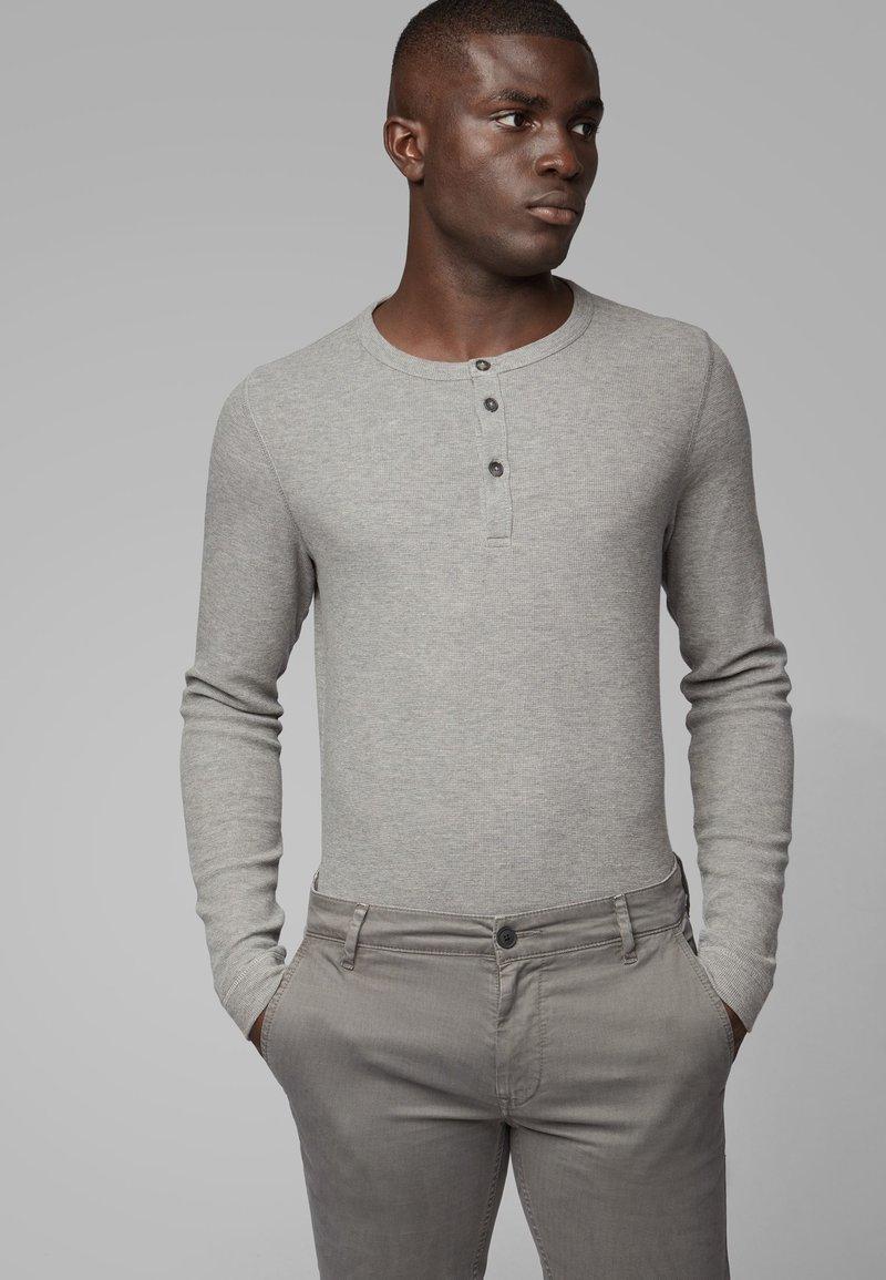 BOSS - TRIX - Long sleeved top - light grey