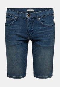 edc by Esprit - Szorty jeansowe - blue dark washed - 9