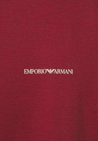 Emporio Armani - Basic T-shirt - bordeaux - 5