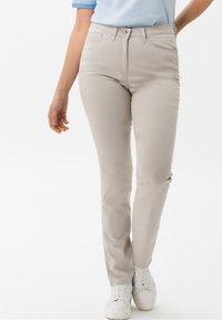 BRAX - Trousers - beige - 0