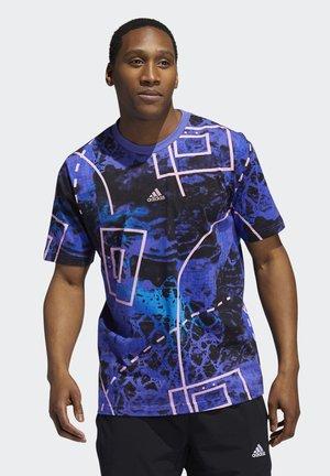 TBACK SUBLIM BASKETBALL GRAPHICS GRAPHIC T-SHIRT - Print T-shirt - bright blue/active purple