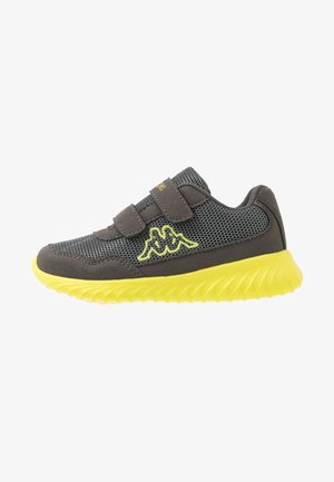 CRACKER II - Sports shoes - grey/lime