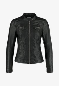 ONLY - BANDIT BIKER - Veste en similicuir - black - 4