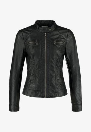 BANDIT - Faux leather jacket - black
